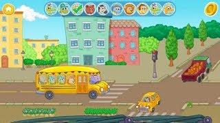 Permaiana Bus Anak Anak: Antar Jemput Anak Anak Sekolah Dengan Bus Part 2