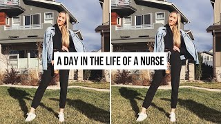A DAY IN THE LIFE OF A NURSE!
