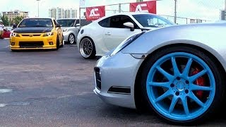 AUTOCON 2013 CUSTOM TUNED STREET RACING CARS AT MIAMI PART 2