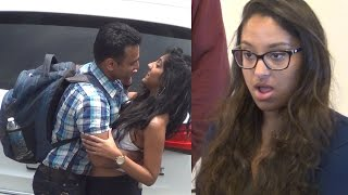 Indian Guy Caught Cheating on his American Girlfriend!
