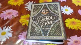 J.M.Barrie Peter Pan Novel Book By PUFFIN CHALK New Unboxing