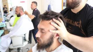 ASMR Turkish Barber Head Neck and Body Massage 41