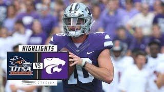 UTSA vs Kansas State Football Highlights (2018) | Stadium
