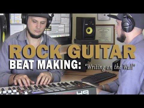 Classic Prog Rock Guitar Sample Hip Hop Beat Making Video 2017