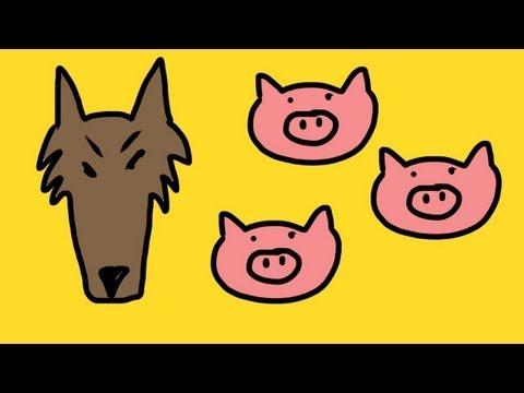 los tres cerditos y el lobo feroz vidoemo emotional