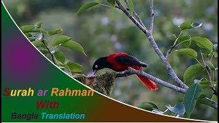 Surah ar Rahman full | মন জুড়ানো সুরে সূরা আর রহমান (আরবি-বাংলা)