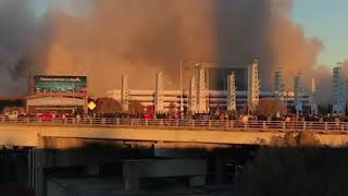 Atlanta's Georgia Dome Destroyed in Controlled Implosion
