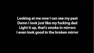 Lil Wayne ft Bruno Mars - Mirror Instrumental Lyrics on screen