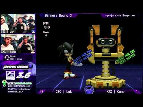 SG at GU 9.8: CSC | Luk (Sonic) vs XXX | Comb (ROB)