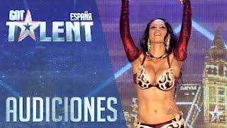 Hay músculos que no sabias que existían | Audiciones 2 | Got Talent España 2016