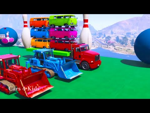 Xxx Mp4 Learn Color Car On Truck Tracter Spiderman Superheroes For Children 2018 3gp Sex