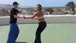 LaSanta2010: Lead Stealing - Rena and Andy - Blooming Flashy