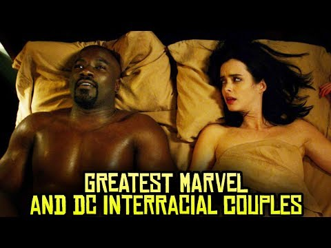 Xxx Mp4 10 Greatest Marvel And DC Interracial Couples 3gp Sex