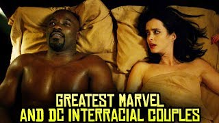 10 Greatest Marvel and DC Interracial Couples!