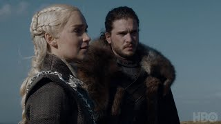 Game of Thrones: Cast Commentary on Jon, Daenerys, and Jorah Meeting (HBO)