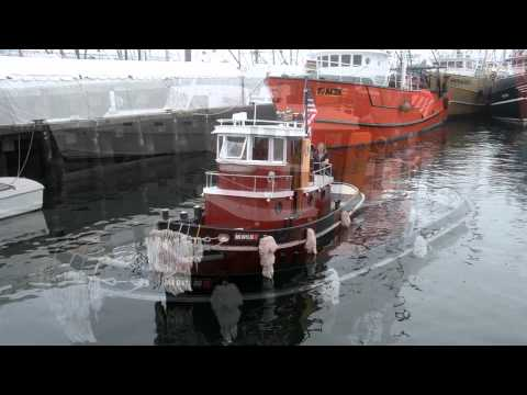 Little Tugs in New Bedford and Gloucester