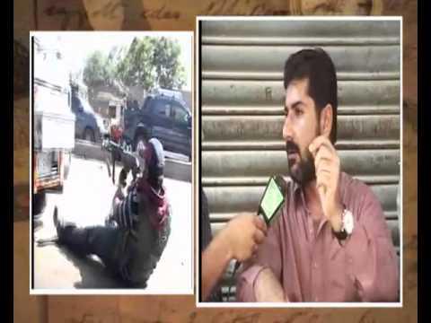 Lyari Opertion Uzair Jan Baloch Interview  during operation