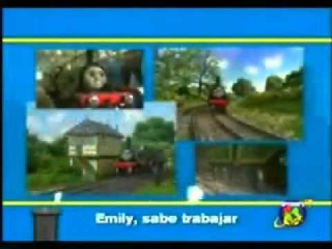 La cancion de Thomas y sus amigos