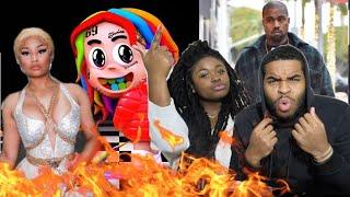 NICKI SNAPPED!!! 🔥😱   6IX9INE - MAMA (feat. Nicki Minaj, Kanye West) (DUMMY BOY ALBUM)   REACTION!!!