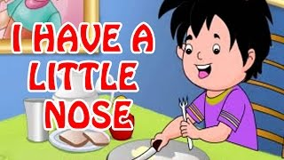 I have a Little Nose | Animated Nursery Rhyme in English Language