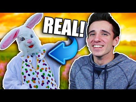EASTER BUNNY IS REAL