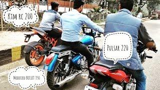 2017 kTm(200) ||modified BULLET(350) ||PULSAR(220) ||RACING||
