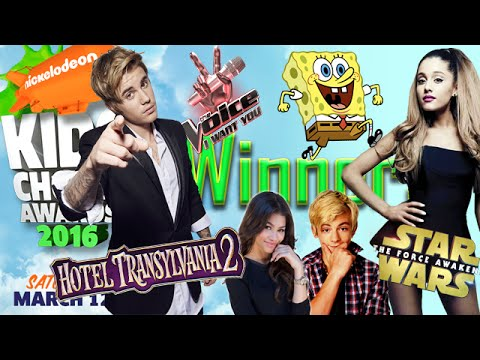 Winners Kids Choice Awards 2016 | FINAL