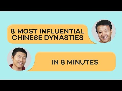 8 Chinese Dynasties in 8 Minutes!