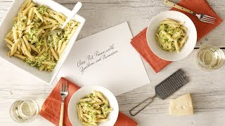 One-Pot Penne with Parmesan and Zucchini- Martha Stewart