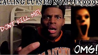 CALLING CURSED NUMBER 999 DEMON HAUNTS ME!!