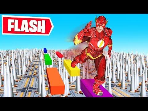 150 LEVELS FLASH 3.0 Deathrun NEW Fortnite Creative Gamemode