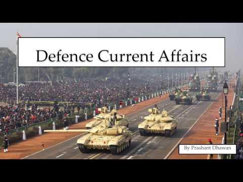 Defence current affairs 2016 2017 Last 6 months CDS UPSC NDA AFCAT GK NEWS DEFENSE
