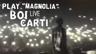 "PlayBoiCarti Performs ""Magnolia"" CRAZY LIT!"