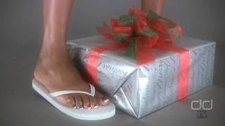 Darla TV - Foot Fetish Christmas: The Flip Flop Gift Crush