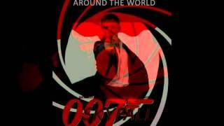 Daniel Craig in 007 Skyfall gunbarrel + poster