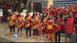 For the Kahaluu Elementary ukulele band, Laulima Day of giving was a day of healing