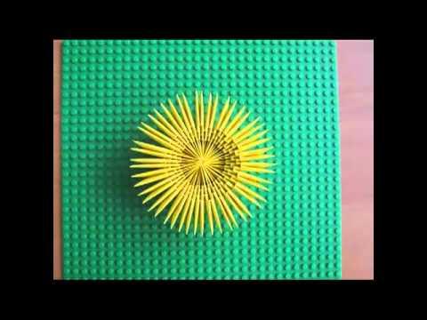 kurczak jajo origami