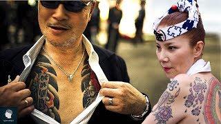 ما لا تعرفه عن  عصابات الياكوزا اليابانية | الوجه الياباني المرعب الذي يخاف منه الجميع..!!