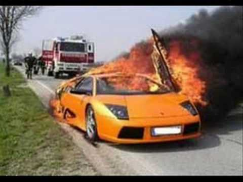 Exotic Cars Crashes compilation choques autos caros