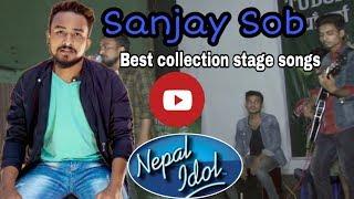 नेपाल आइडल प्रतिस्पर्धी सञ्जय सोब को स्टेज प्रस्तुती/Sanjay Sob Collection#HelloTikapur