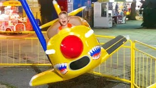 Download Outdoor playground fun for kids with planes. Video from KIDS TOYS CHANNEL 3Gp Mp4