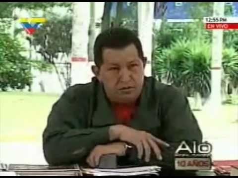 EL COMANDANTE CHAVEZ HABLA SOBRE CORRUPCION
