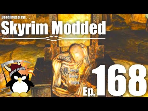 The Tomb of King Olaf - Skyrim Modded Ep 168