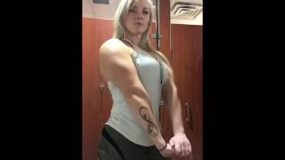 Female Bodybuilder Rachel Plumb - Biceps & Triceps