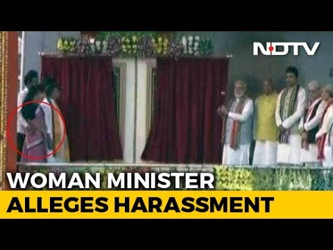 Xxx Mp4 Tripura Minister Seen Groping Colleague On Stage In PM 39 S Presence 3gp Sex