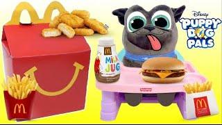 New Disney Jr. PUPPY DOG PALS BINGO, Moana Eats McDonald
