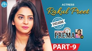 Actress Rakul Preet Singh Exclusive Interview Part #9 || Dialogue With Prema |Celebration Of Life