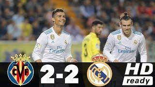 REAL MADRID VS VILLARREAL 2-2  HIGHLIGHTS 19/05/2018