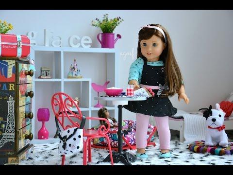 American Girl Doll Grace s Bedroom Watch in HD