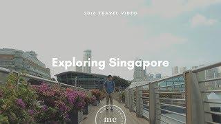 Exploring Singapore (2016 Travel Video) | Miguel Constantin